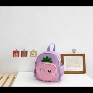 🆕Kids Cute Purple Fruit Backpack